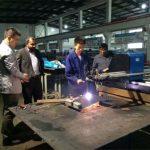 Hea kvaliteet cnc plasma lõikamise masin Hiina tehase hind