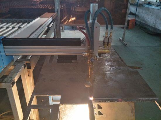 Kõrgsageduslik Cnc kaasaskantav plasma lõikamise masina hind terasest rauast
