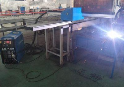 Lehtmetalli täpne tööriist cnc plasma lõikamismasin