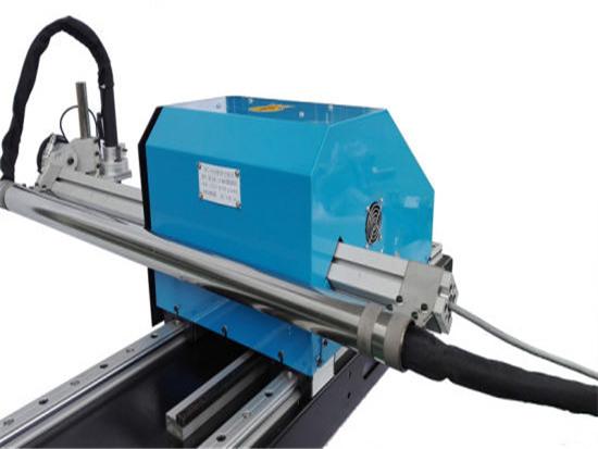 Gantry tüüp CNC Plasma lõikamismasin, terasplaadi lõikamine ja puurmasinad tehase hind