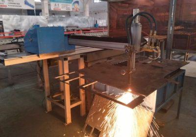 Hiina tarnija majanduse metallist cnc plasma lõikamise masin
