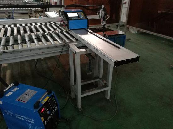CNC kaasaskantav plasma / leegi lõikamismasin alumiiniumi lõikamiseks